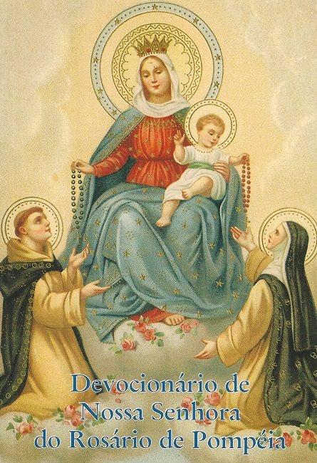Devocionário de Nossa Senhora Rosário Pompéia