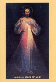Jesus Eu Confio em Vós - Folheto