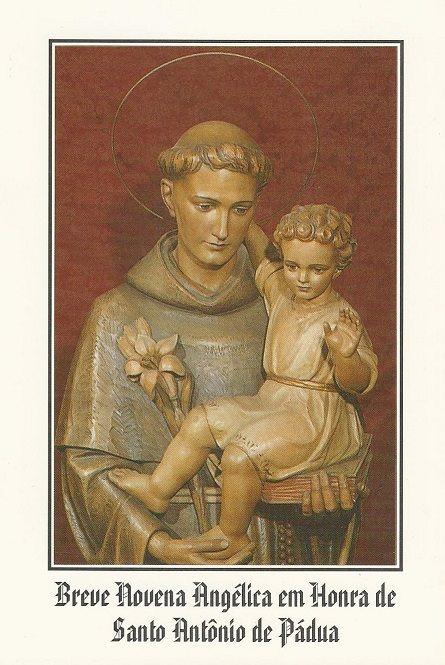Novena Angélica com Santo Antônio
