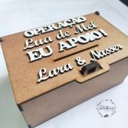 CAIXA OPERAÇÃO LUA DE MEL 20X13X10CM