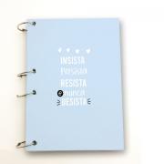 Caderno Argolado - A4 Insista