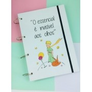 Caderno Argolado A4 Pequeno Príncipe