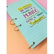 Caderno Argolado A4 Professor