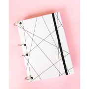 Caderno Argolado Geométrico - Personalizado