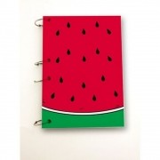 Caderno Argolado Melancia