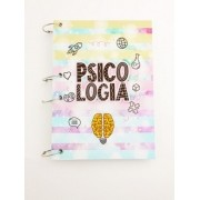 Caderno Argolado profissão A5 - psicologia