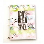 Caderno Argolado Universitário A4 - Direito