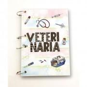 Caderno Argolado Universitário A4 - Veterinária