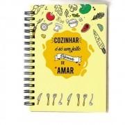 Caderno de Receita 210x155mm