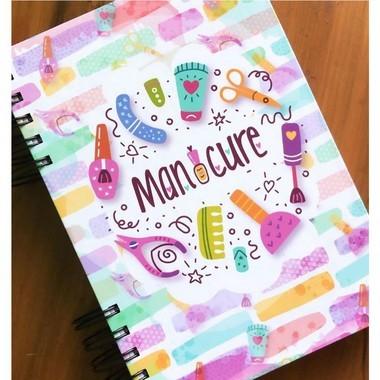 Agenda Manicure Tamanho A5