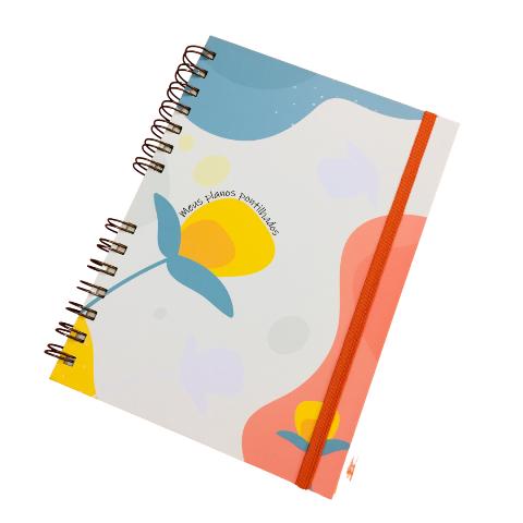 Caderno Bullet - Meus Planos Pontilhados