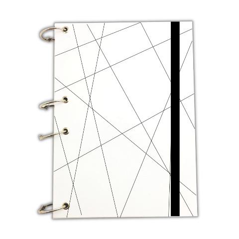 Caderno Argolado A4 Geométrico