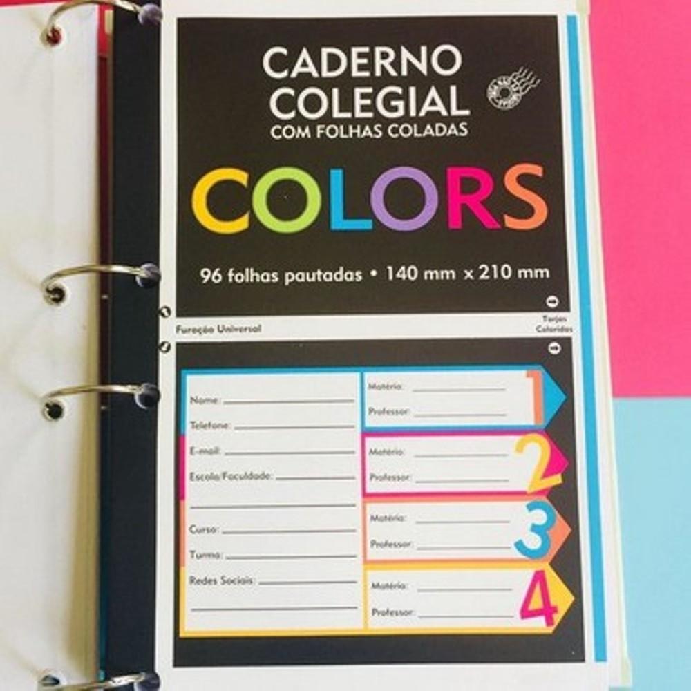 Caderno argolado colegial