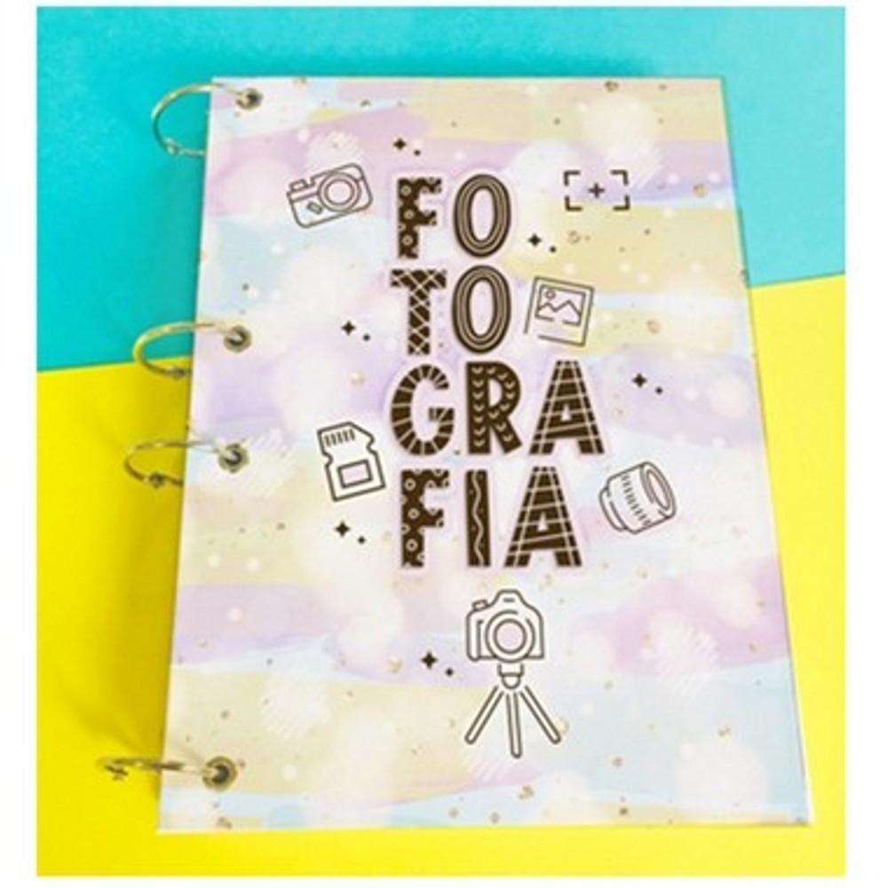 Caderno Argolado Profissão A5 - fotografia