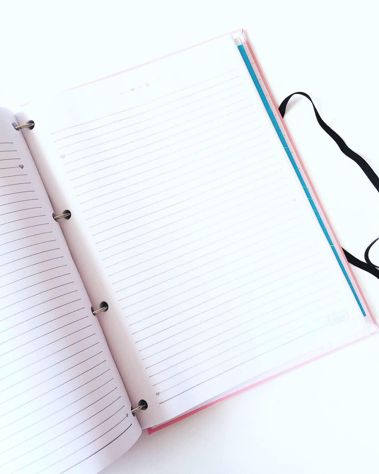 Caderno Argolado Sonhos - Personalizado
