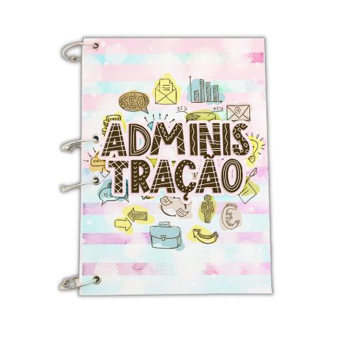 Caderno argolado A4 -ADM