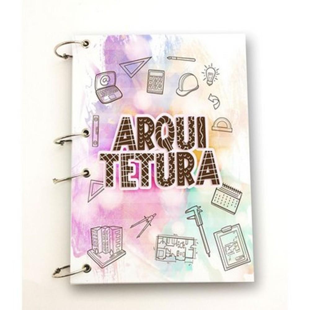 Caderno Argolado Universitário Arquitetura