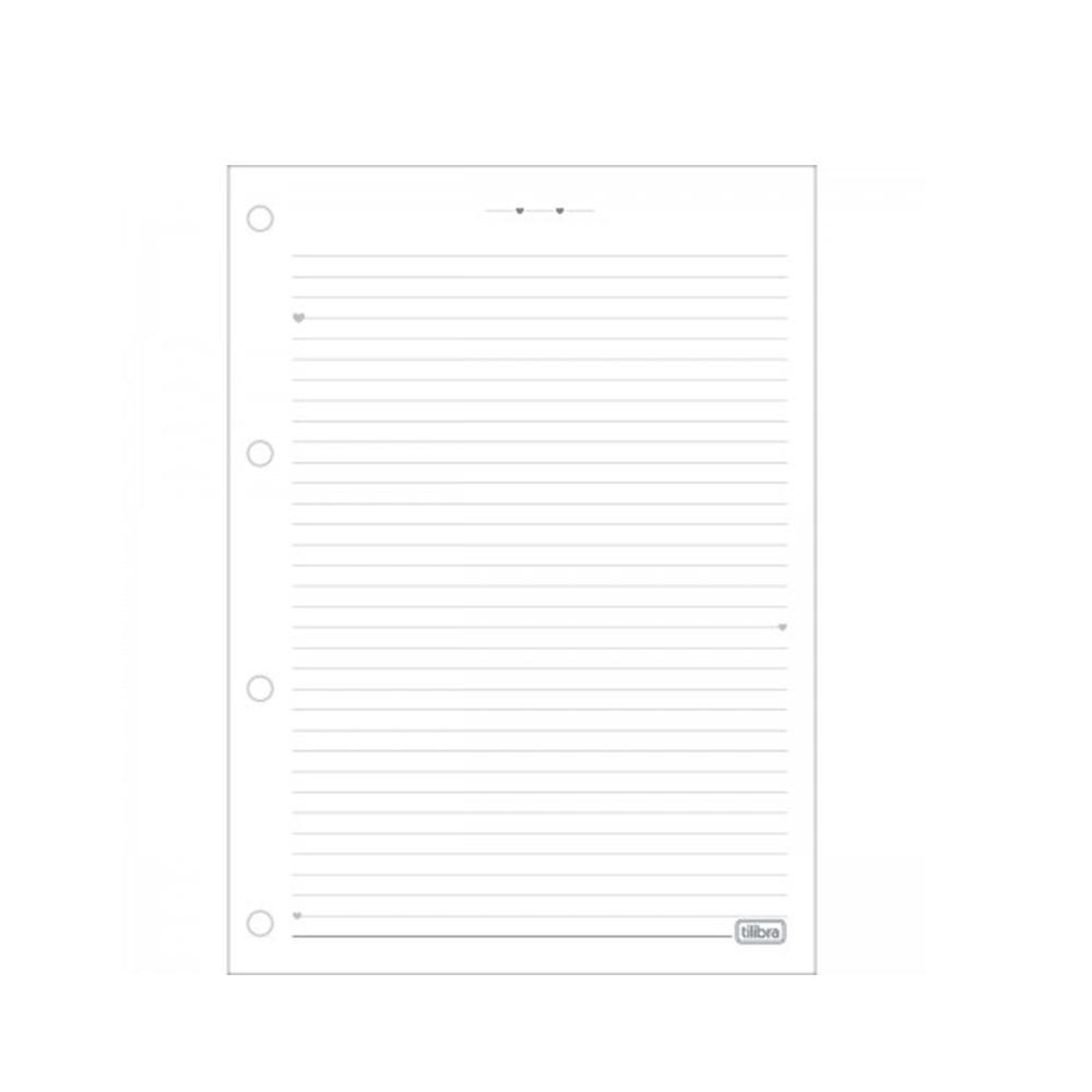 Caderno Argolado Universitário Folhas