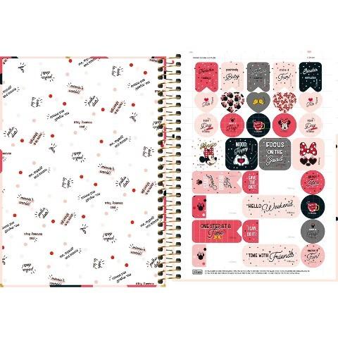 Caderno Espiral Capa Dura Universitário 10 Matérias 160 Folhas Minnie - Unidade