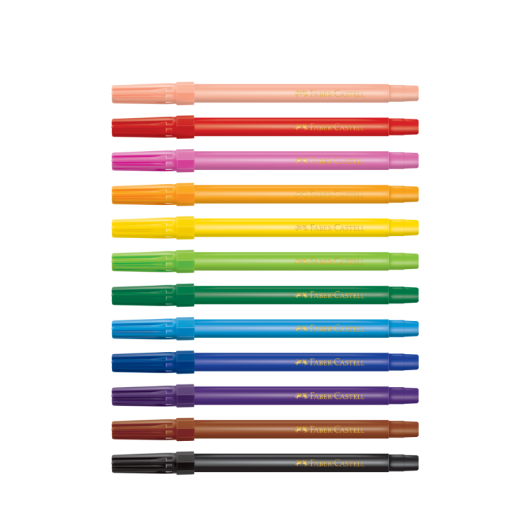 Canetinhas Hidrocor 12 cores - Unidade