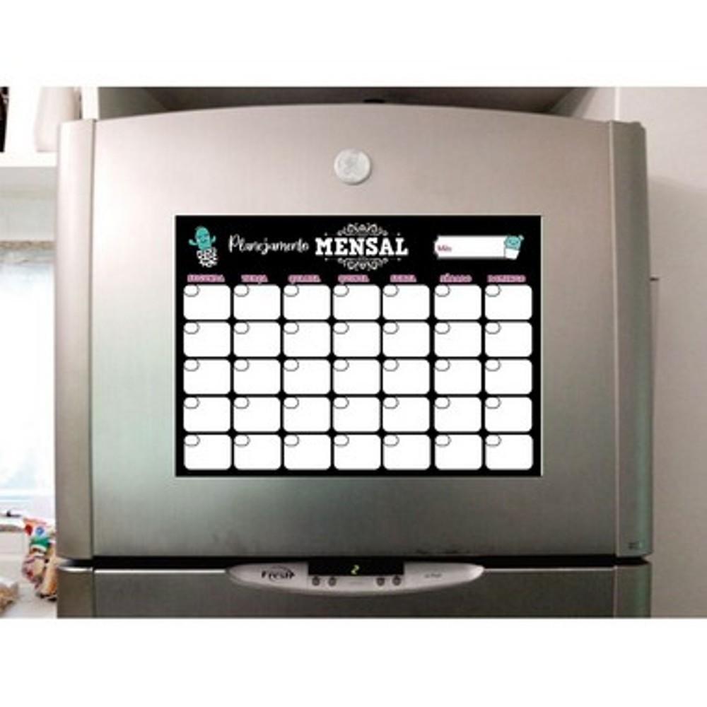 Planner magnético mensal