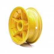 Roda Dianteira Amarela para Walk Machine