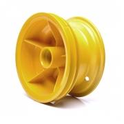 Roda Traseira Amarela para Walk Machine