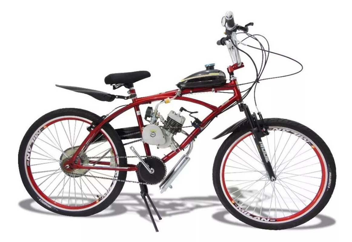 Bicicleta Motorizada Motor Mosquito 80cc
