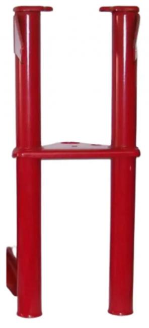 Garfo para Mobilete Caloi - Vermelho