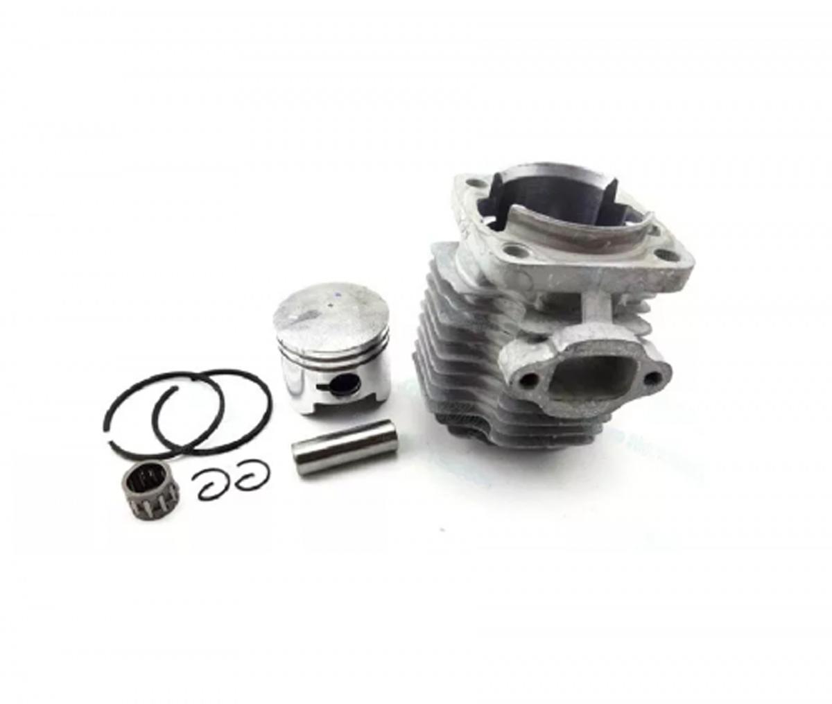 Kit Cilindro Pistão E anel Para Mini Moto 49cc - 44mm