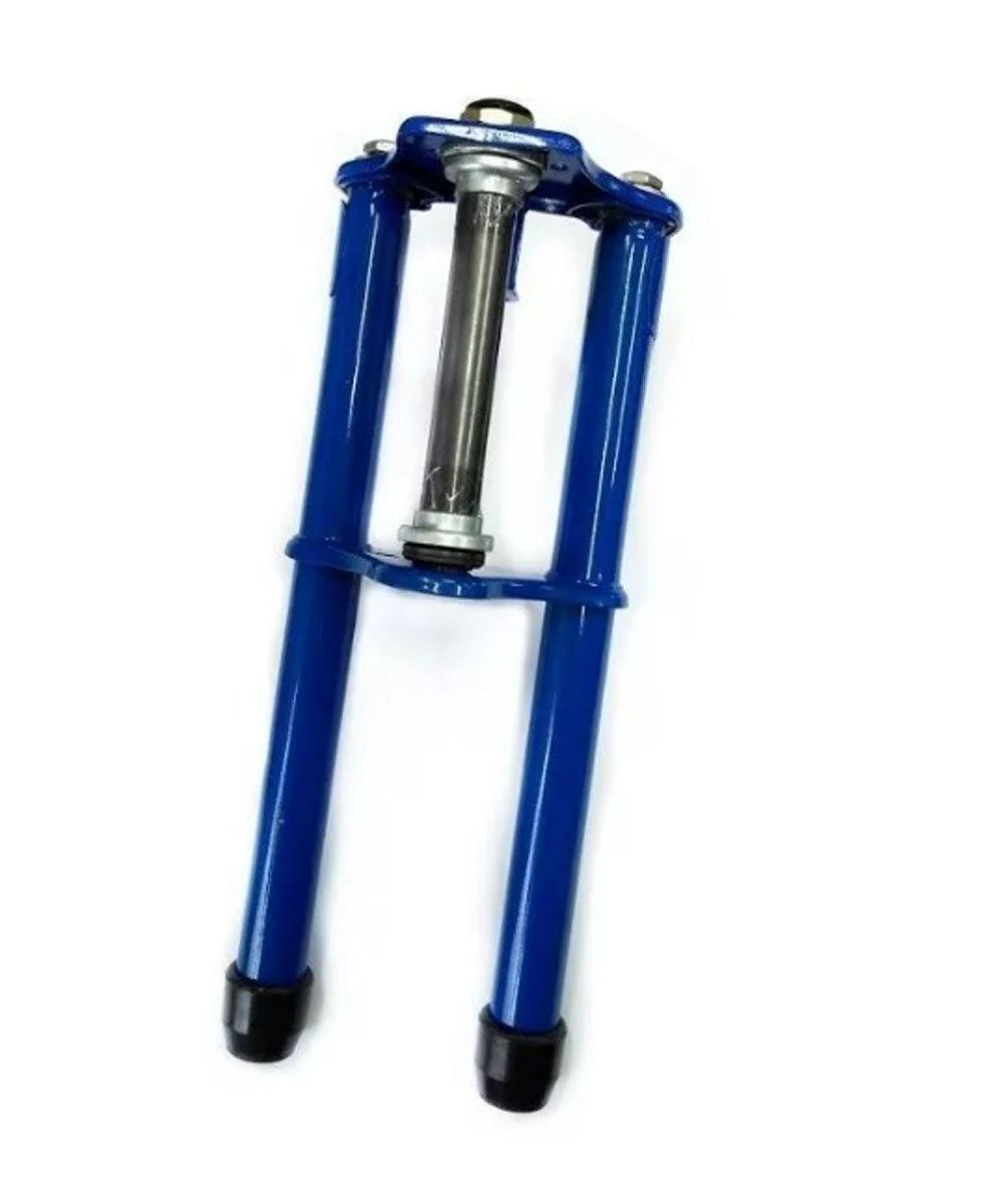Kit Garfo Caloi Completo com Mesa e Canote - Azul