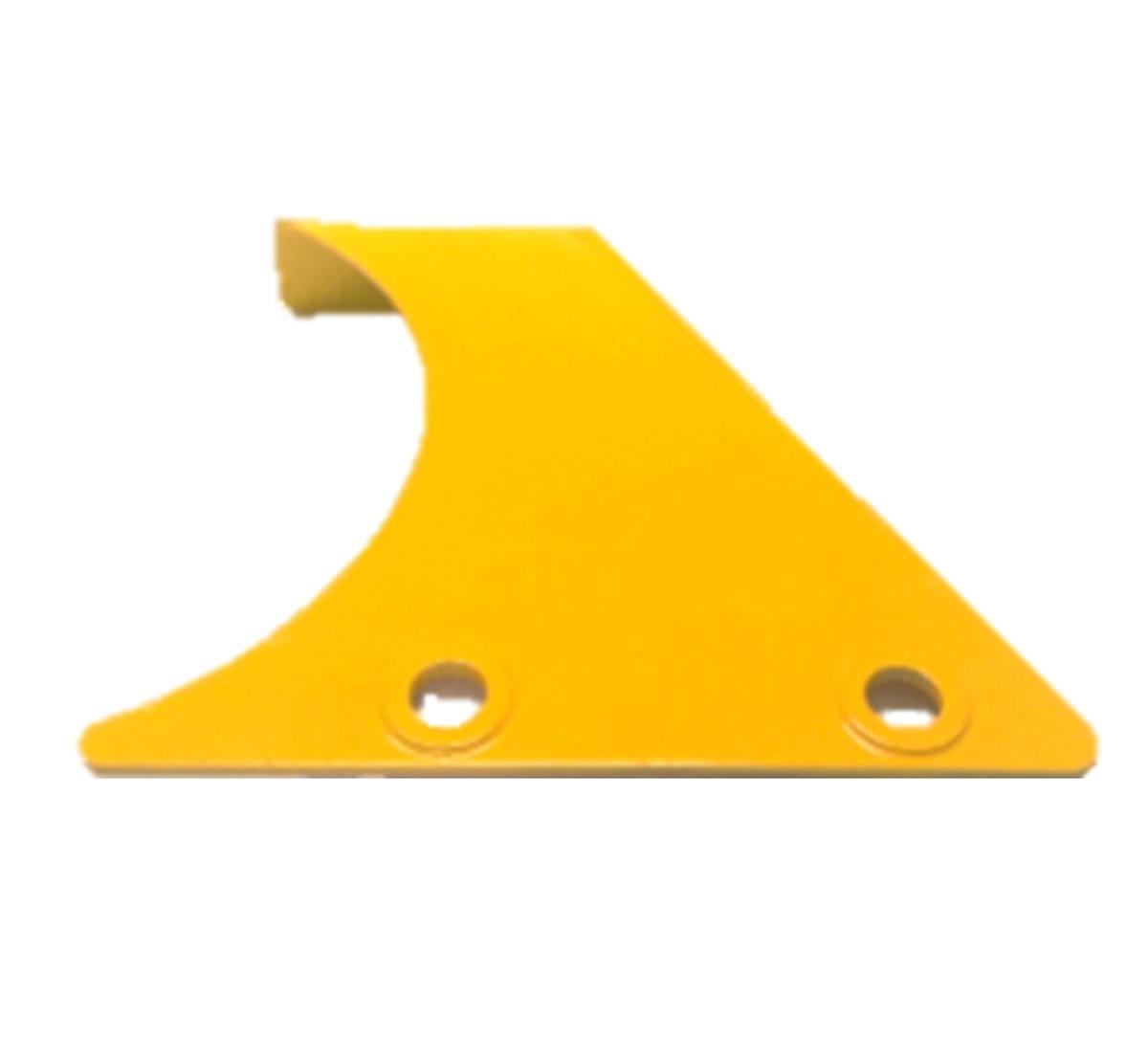 Lateral do Protetor da Correia para Walk Machine - Amarelo