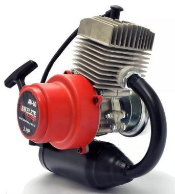 Motor 2 Tempos para Mobilete  75cc com CDI e Carburador