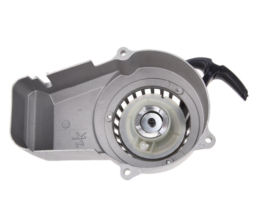 Puxador Partida Manual Aluminio para Mini Moto Quadriciclos 49cc