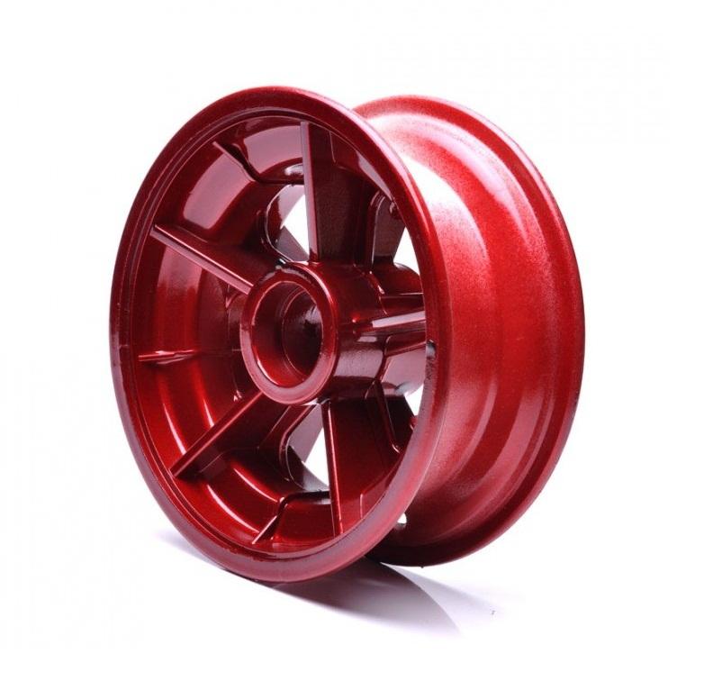 Roda Dianteira Vermelha para Walk Machine