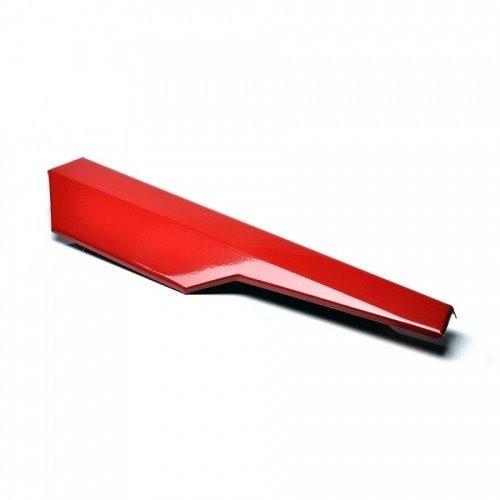 Tampa Lateral Vermelha Lado Esquerdo para Mobilete Caloi