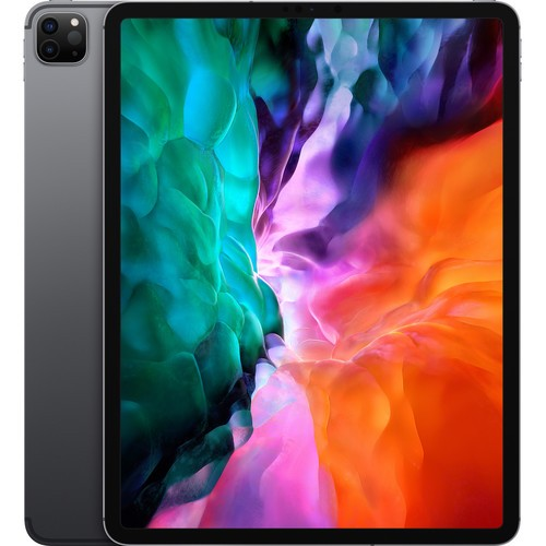 "Apple 12.9"" iPad Pro (Early 2020, 256GB, Wi-Fi + 4G LTE, Cinza Espacial)"