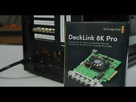 Blackmagic DeckLink 8k Pro Cinema