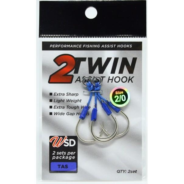 Assist Hook Twin WSD Fishing