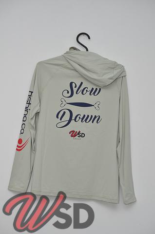 Camiseta Slow Down modelo Samurai by Fishing Co Atacama