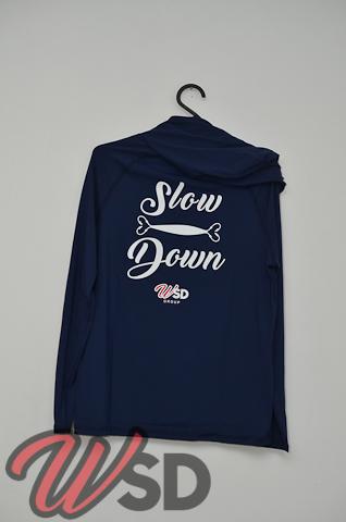 Camiseta Slow Down modelo Samurai by Fishing Co Marinho
