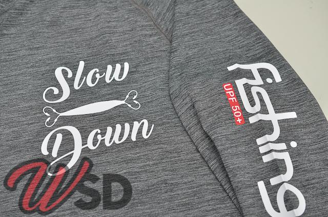 Camiseta Slow Down modelo Samurai by Fishing Co Mescla