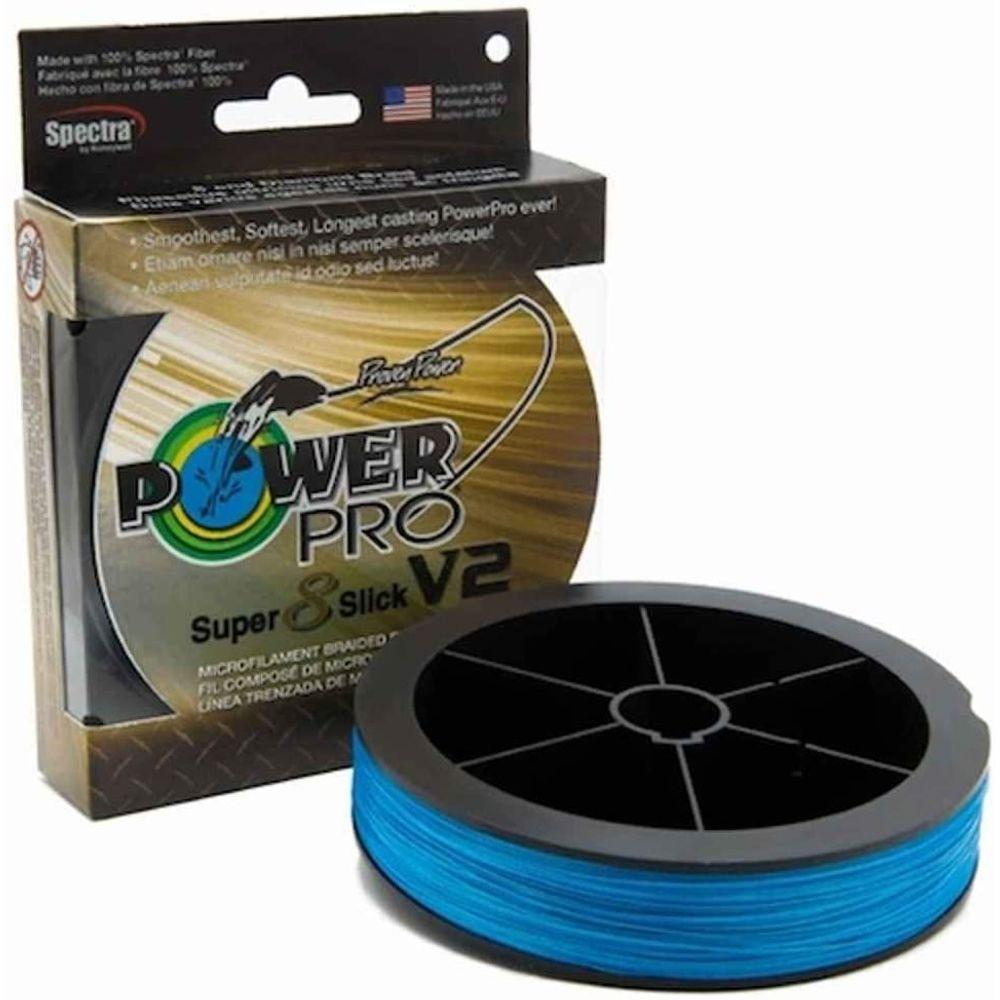 Linha Multi Power Pro Super Slick V2 10 lbs (0.15mm) 150 yds (135 m)