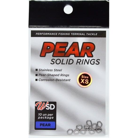 SOLID RING PEAR SHAPE WSD Fishing