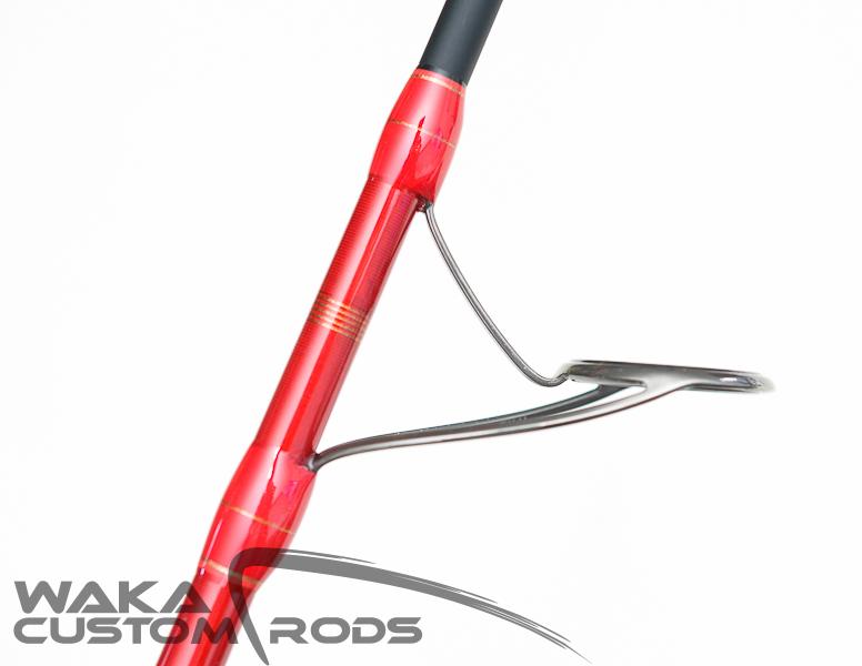 Vara Waka Custom Rods Hiramasa Light Jig 180 g PE2.5-3 para Molinete