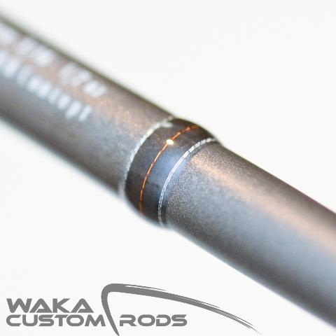 Vara Waka Custom Rods - Jig Head F3 Platinum 4-10 lbs para Carretilha