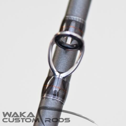 Vara Waka Custom Rods - Jig Head F3 Platinum 6-12 lbs para Carretilha