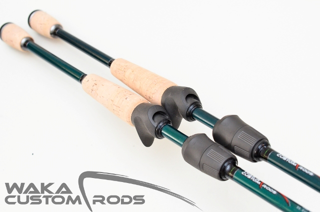 Vara Waka Custom Rods - Jig Head St. Croix SCV 6-10 lbs para Carretilha