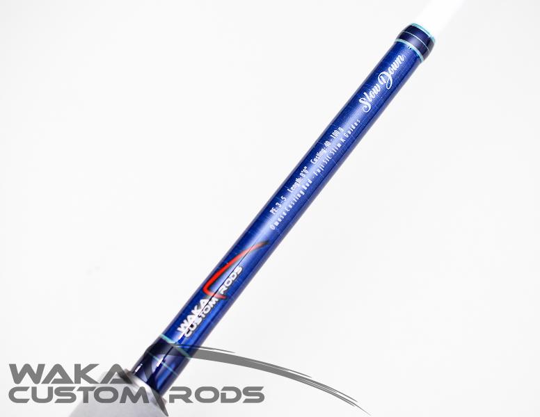 """Vara Waka Custom Rods Omasa PE 3-5 8'0"""" para Molinete"""