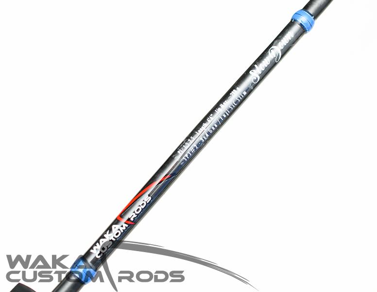 "Vara Waka Custom Rods - Slow Pitch Jigging SPJ#2 Jig 200 g PE1.5-2.5 6'6"""